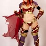 Svetlana Quindt : Alexstrasza - World of Warcraft Cosplay