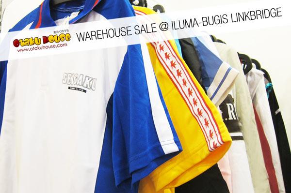 Otaku House Warehouse Sale