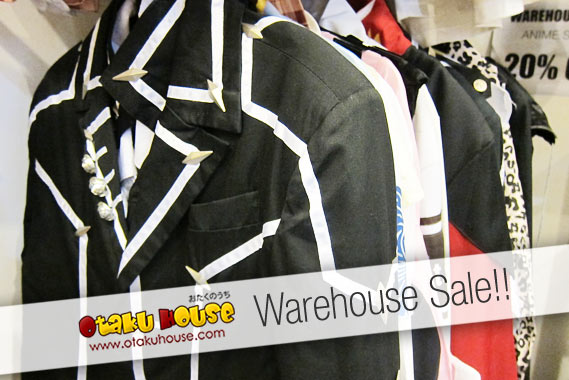 Otaku House Warehouse Sale