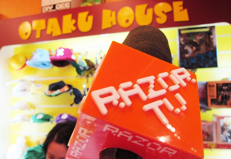 Otaku House Feature on RazorTV : Cosplayer's Paradise