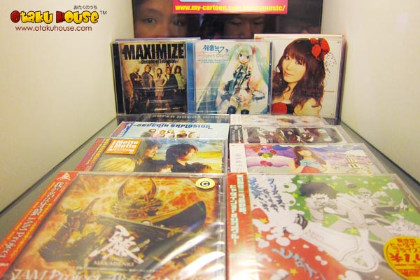 Anime and Japanese Music CDs – Otaku House