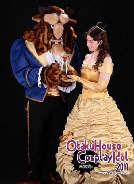 17. TR Rose and Concolor - Mandy Nader and Lee Nader From Disney's Beauty and the Beast (704 likes)