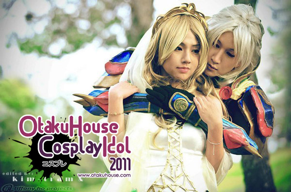 14. Hayate Crawford and Okageo - Cosmos and Warrior of Light From Dissidia Final Fantasy(803 likes)