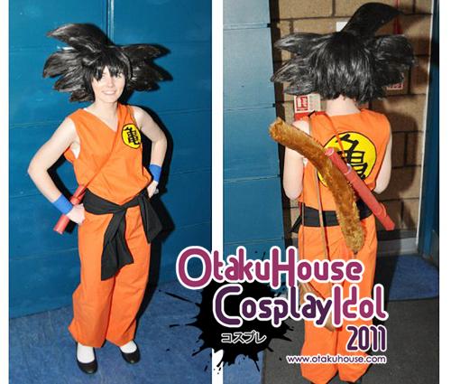 Haley - Kid Goku From Dragon Ball Z