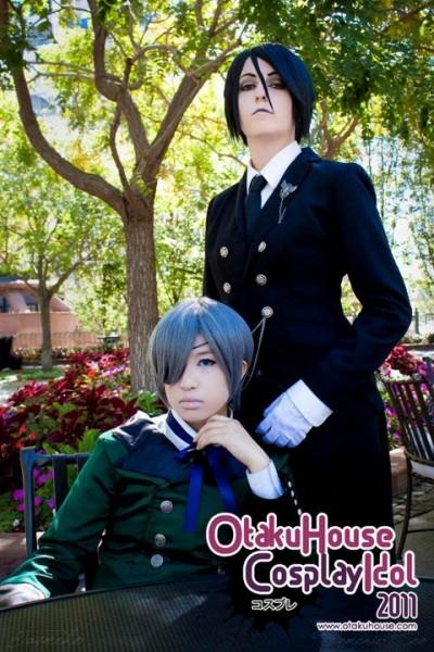 16. Kimberlynn and Bailee - Ciel Phantomhive and Sebastian Michaelis From Kuroshitsuji (731 likes)