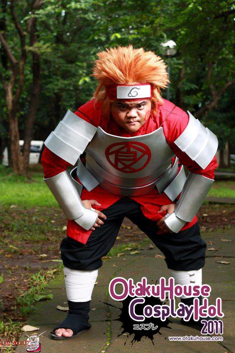 25.Jackz Jacalan - Akimichi Chouji From Naruto Shippuden(446 likes)