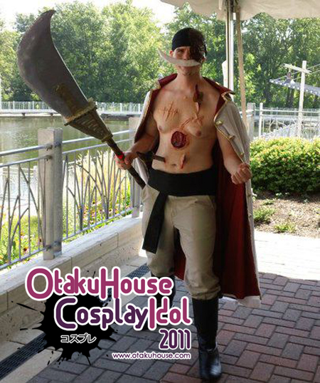 26. Raymond Fuller - Whitebeard From one Piece(350 likes)