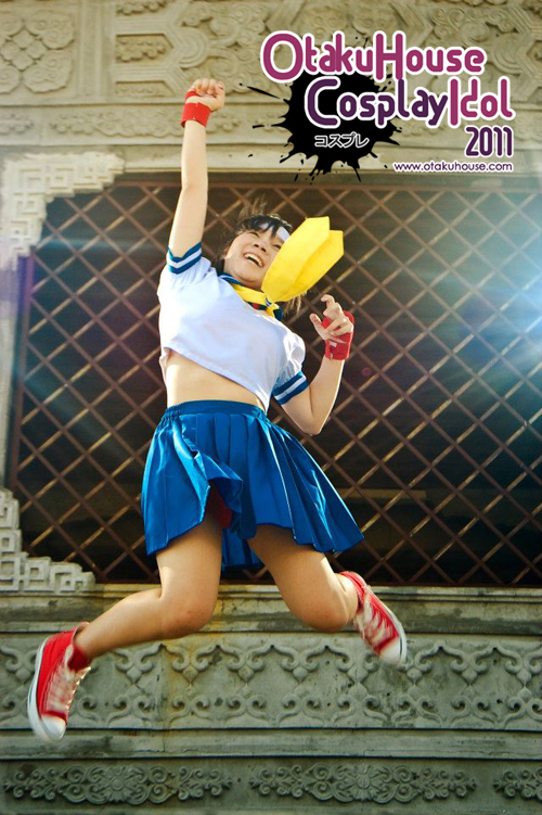 26.	Sakuya Haung - Sakura Kasugano From Street Fighter(445 likes)