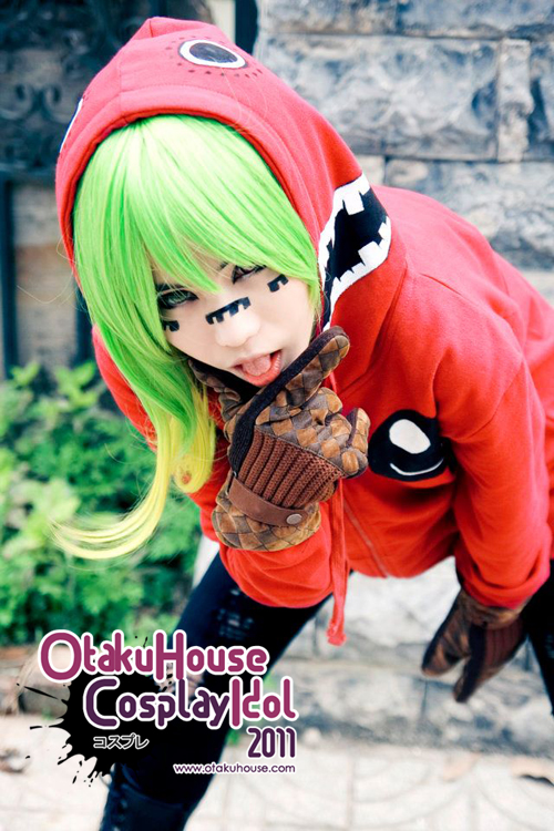 3.Mikuha Chan - Gumi From Vocaloid(984 likes)