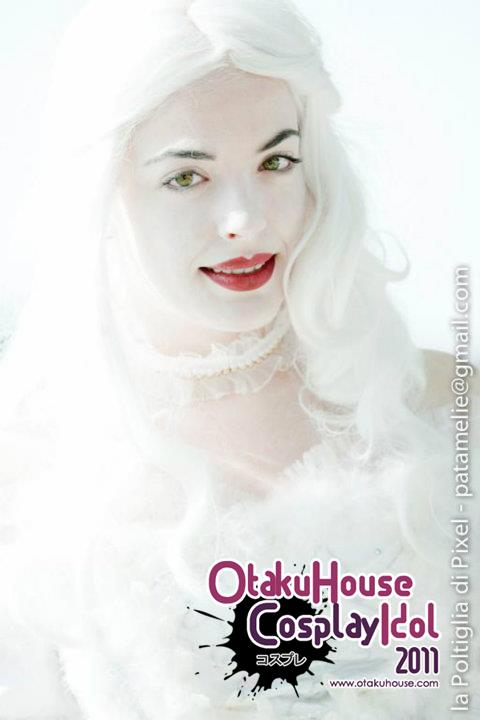 23.Marta Micheli - Mirana, The White Queen From Alice In Wonderland(442 likes)