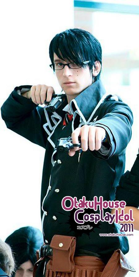 12.Guillaume Meceron - Okumura Yukio From Ao No Exorcist(581 likes)