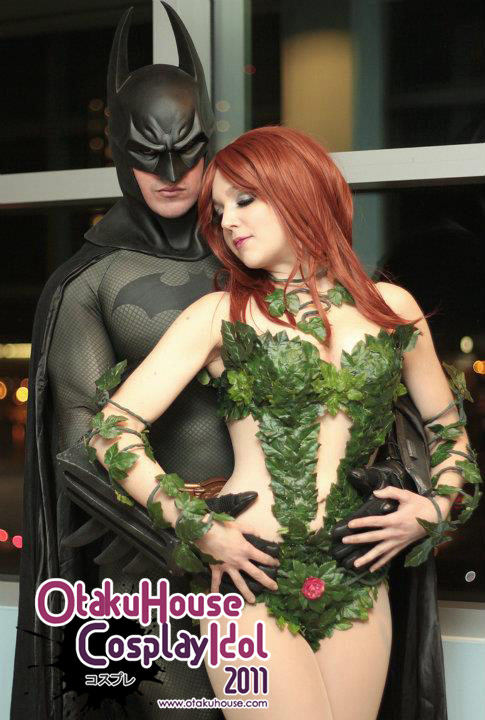 2.Spencer Doe and Nicole Jean - Batman and Poison Ivy From Batman(1851 likes)