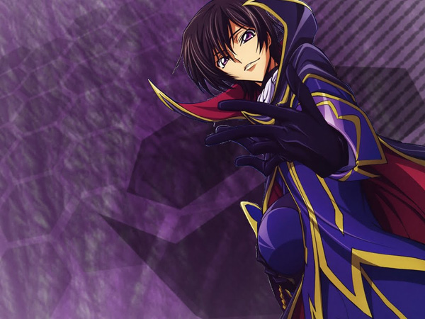 #15:Code Geass - Lelouch Lamperouge (44 votes)