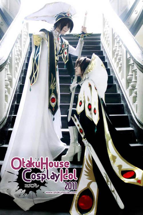 9.SilverX and Heartnet - Suzaku Kururugi and Lelouch From Code Geass (1217 likes)