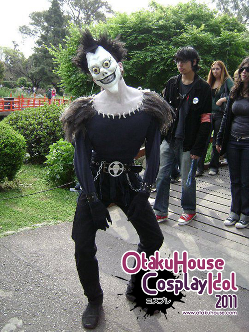8.	Julio Cesar - Ryuk Shinigami From Death Note(966 likes)