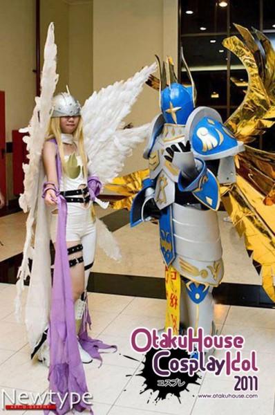 29. Vinca Valentina and Raiki Mri - Angewomon and Seraphimon From Digimon Adventure (721 likes)