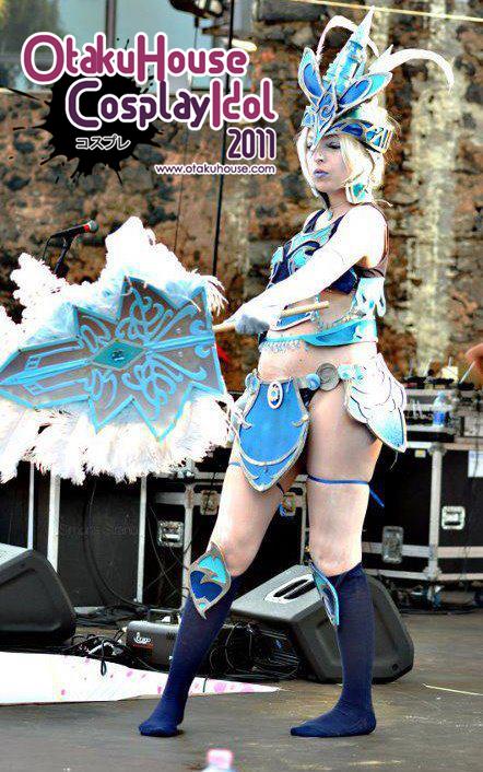 19.Roberta Caudullo - Shiva From Final Fantasy Blood Of Bahamut(483 likes)
