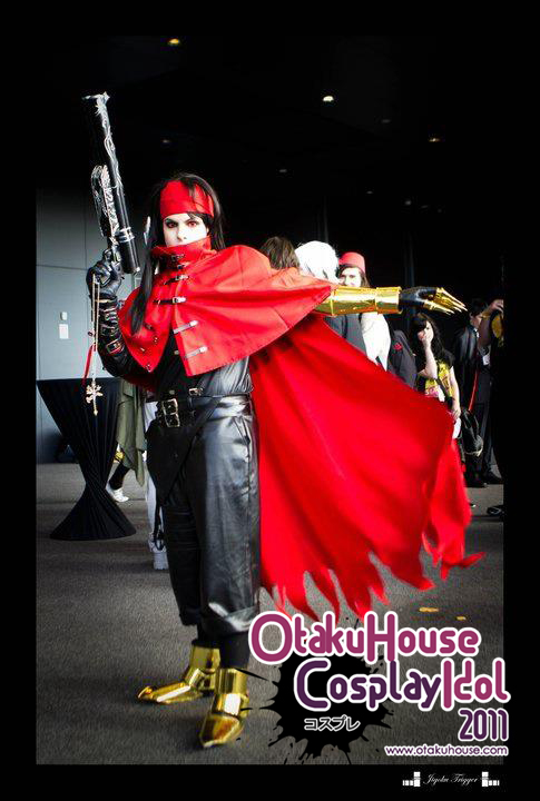 26.	Kristen - Vincent Valentine From Final Fantasy VII/Advent Children(467 likes)