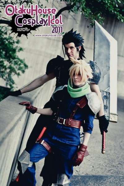 5. Malindachan and Ex-Shadow - Cloud Strife and Zack Fair From Final Fantasy VII: Crisis Core (1373 likes)