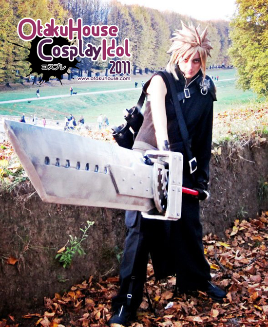 28.	Roby Chan - cloud Strife From Final Fantasy VII(420)