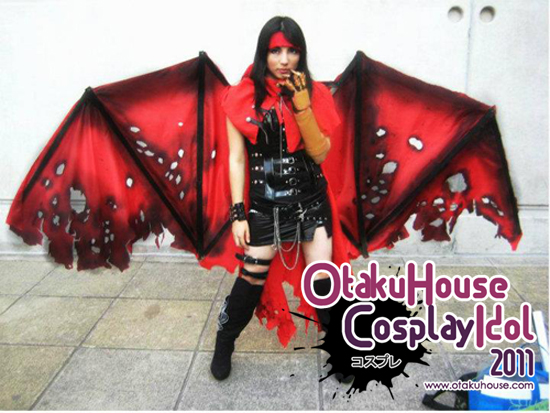 4.Spooki - Female Vincent Valentine From Final Fantasy VII(661 likes)