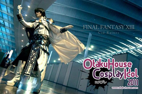 11.Hikari Kanda - Cid Raines From Final Fantasy XIII(589 likes)