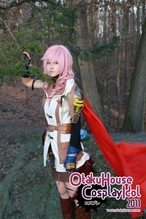 18.Kai - Claire Lightning Farron From Final Fantasy XIII(565 likes)