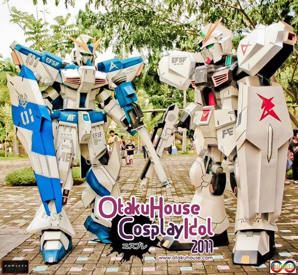 3. Benjie Humangit and Ritchie Louie - RX-93 Hi Nu Gundam And RX-93 Nu Gundam From Gundam Series (1620 likes)