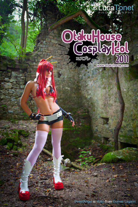 6.Sweet Angel - Yoko Littner From Gurren Lagann(690 likes)