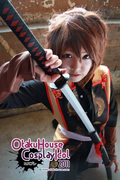 15.Wendy Park - Okita Souji(Western) From Hakuouki Shinsengumi Kitan(528 likes)