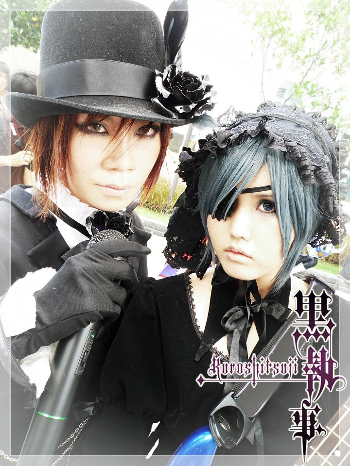 22.	Jhr Sleepingforest and Tang Mokululu - Drocell CainZ and Ciel Phantomhive From Kuroshitsuji (841 likes)