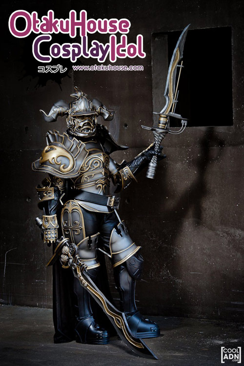 4. Shoko Piedanna - Judge Magister Gabranth From Final Fantasy XII(1044 likes)