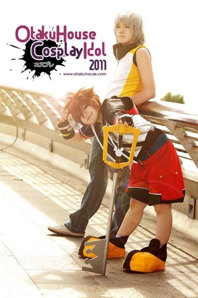 13. Lishrayder and Raiku - sora and Riku From Kingdom Heart (1070 likes)
