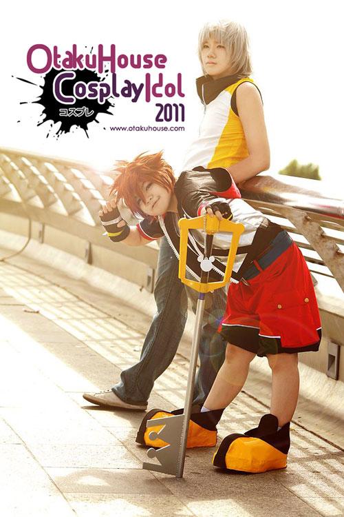 13.Lishrayder and Raiku - sora and Riku From Kingdom Heart (1070 likes)