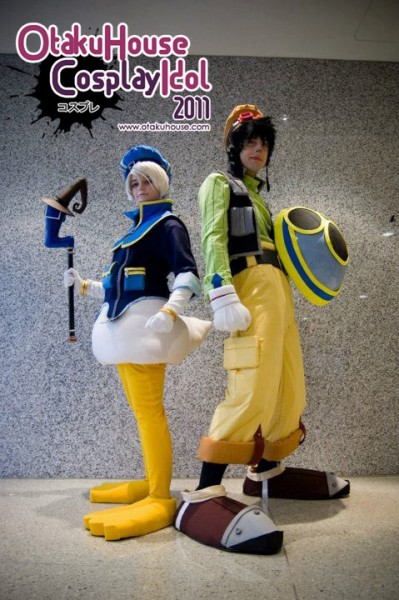 3. Hopie and Score - Donald and goofy From Kingdom Hearts (1752 likes)
