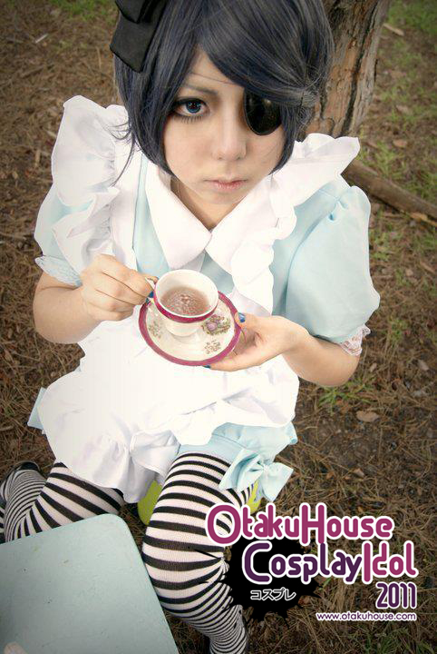 19.	Nona Wang - Ciel PhantomHive in Wonderland(446 likes)