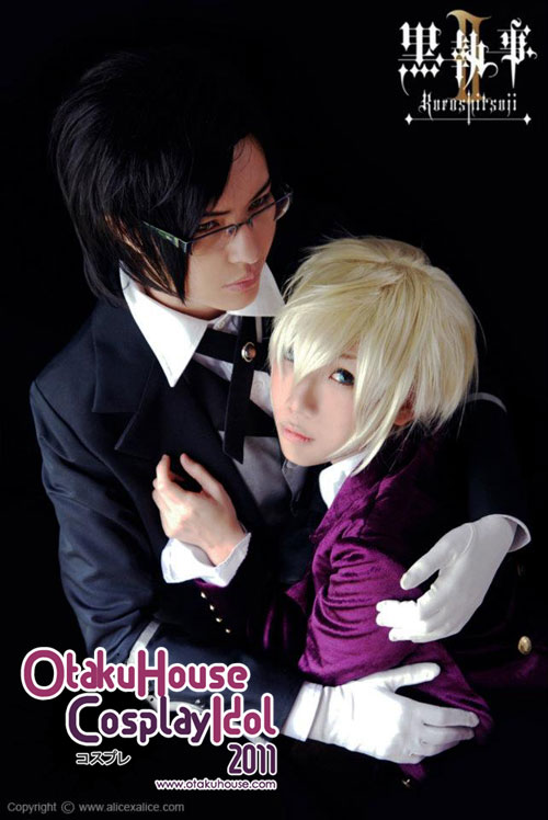 24.	Nokutesu and Irvy - Claude Faustus and Alois Trancy From Kuroshitsuji (814 likes)
