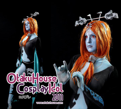 22.	Maddie B - Midna From The Legen Of Zelda Twilight princess(502 likes)