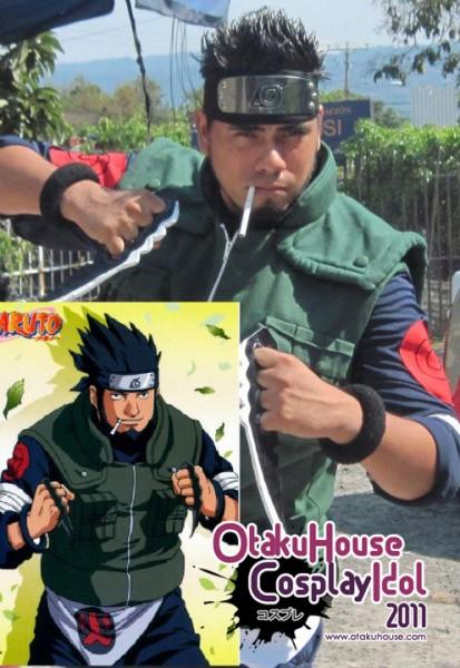 23. Ferk Sarutobi - Asuma Sensei From Naruto(560 likes)