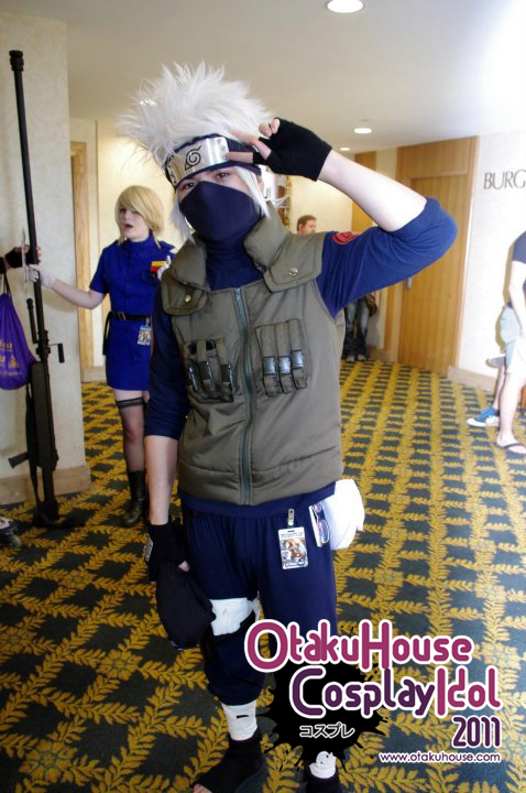 23.	Chris Tan - Kakashi Hatake From Naruto(497 likes)