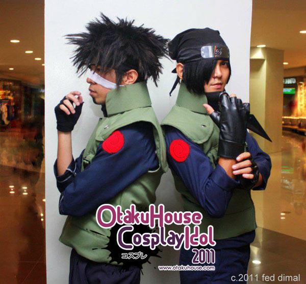 27.Engle jones Aquino and Engle Miggoy - Kotetsu Hagane and Izumo Kamizuki From Naruto Shipuuden (778 likes)