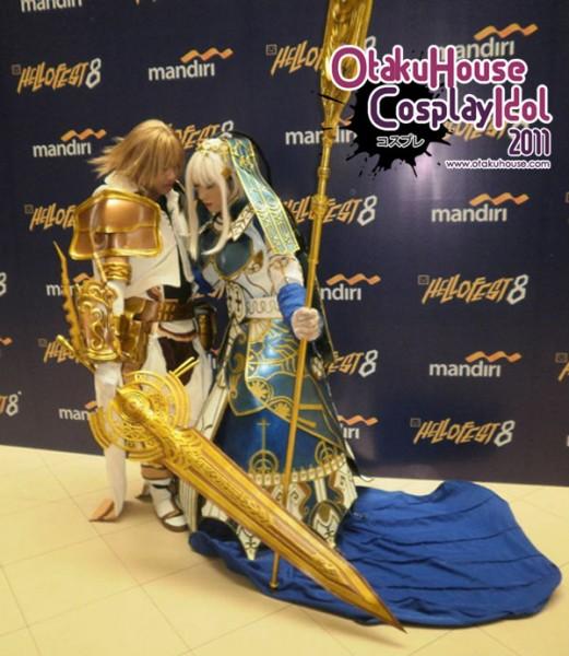 26. Singgih and Kuro - Ceres and Ende From Pandora's Tower (782 likes)