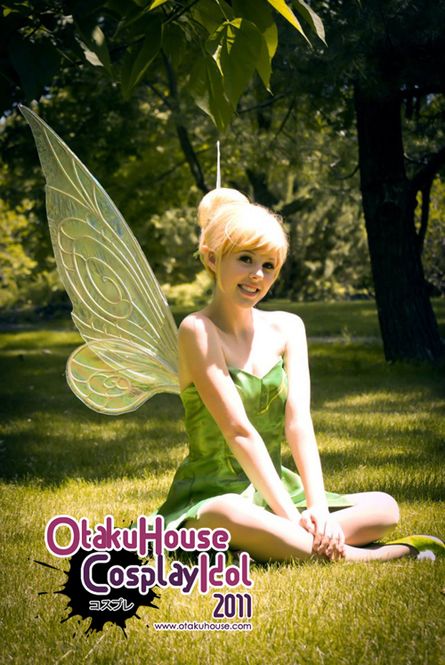 2.	CourtoonXIII - Tinkerbell From Peter Pan(1782 likes)