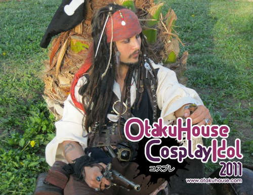 4.	Diego Aranda Urrutia - Captain Jack Sparrow From Pirate of the Carribbean(1320 likes)