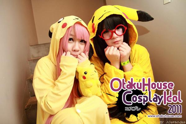 10. Lullabe and Riko - Pikachu and Luka Pikachu From Pokemon (1139 likes)