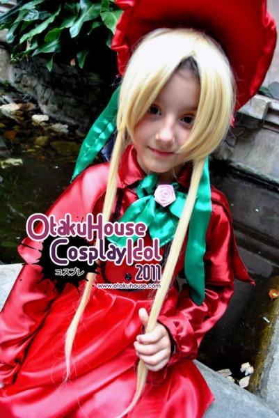 24. Eva - Shinku From Rozen Maiden(348 likes)