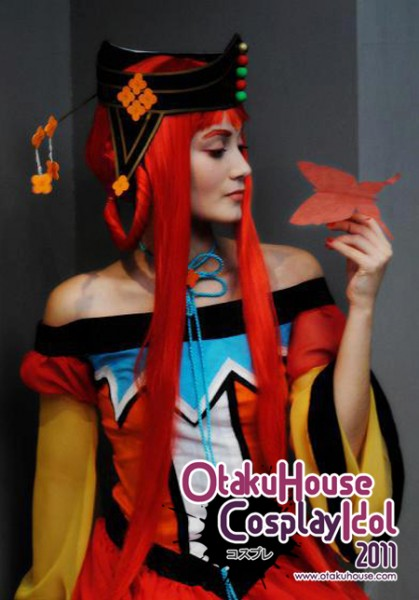 24. Ines Silva - Kakyuu Princess From Sailor Moon(554 likes)