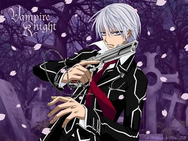 #10:Vampire Knight - Zero Kiryu (55 votes)