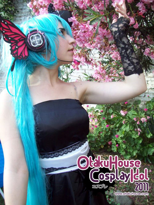 20.Miky Salgado - Hatsune Miku From Vocalid(376 likes)