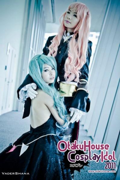 18. Tsugumi and Aranee - Megurine Luka and Hatsune Miku From Vocaloids (898 likes)